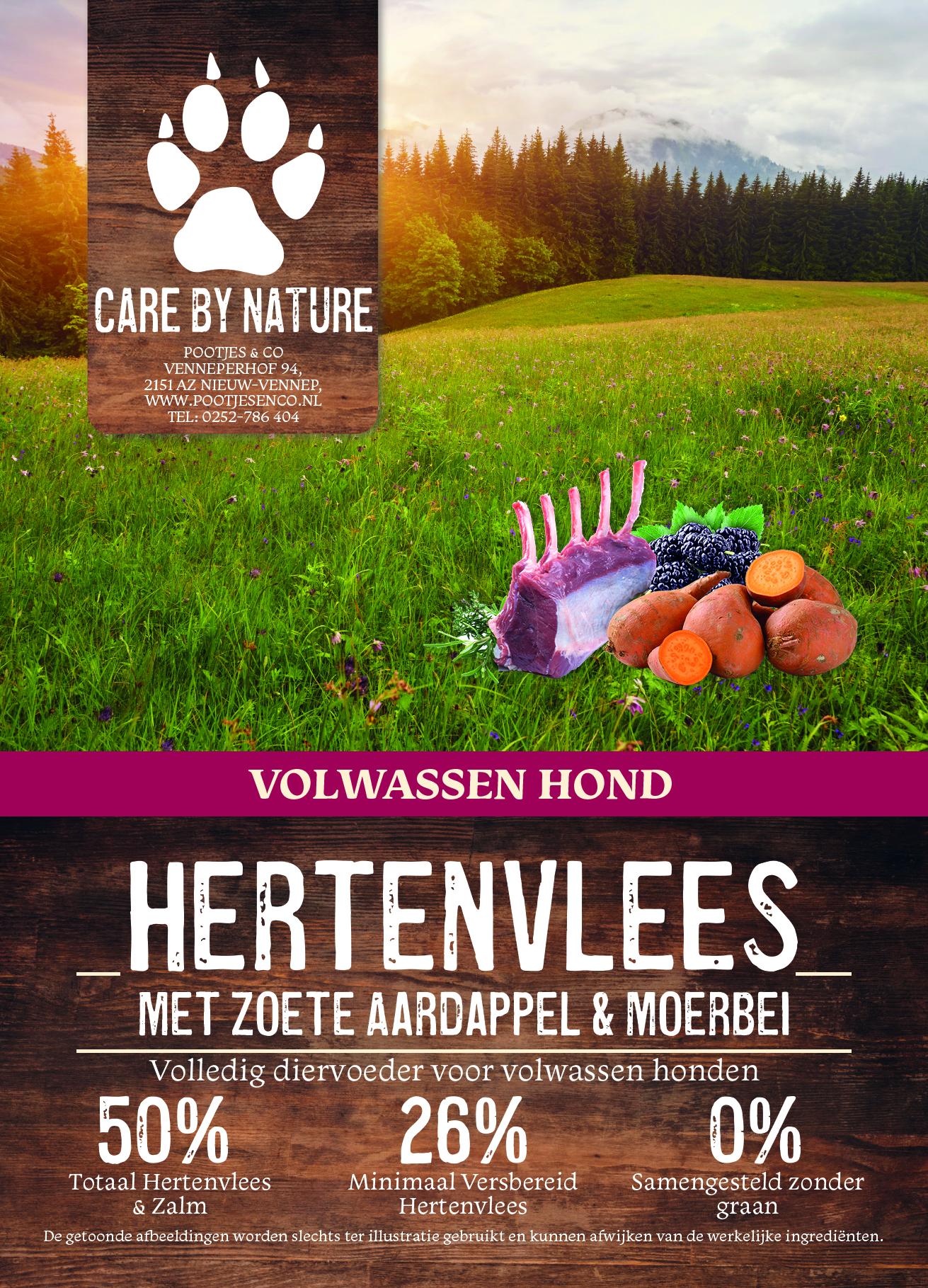 Care by Nature hondenvoedingen